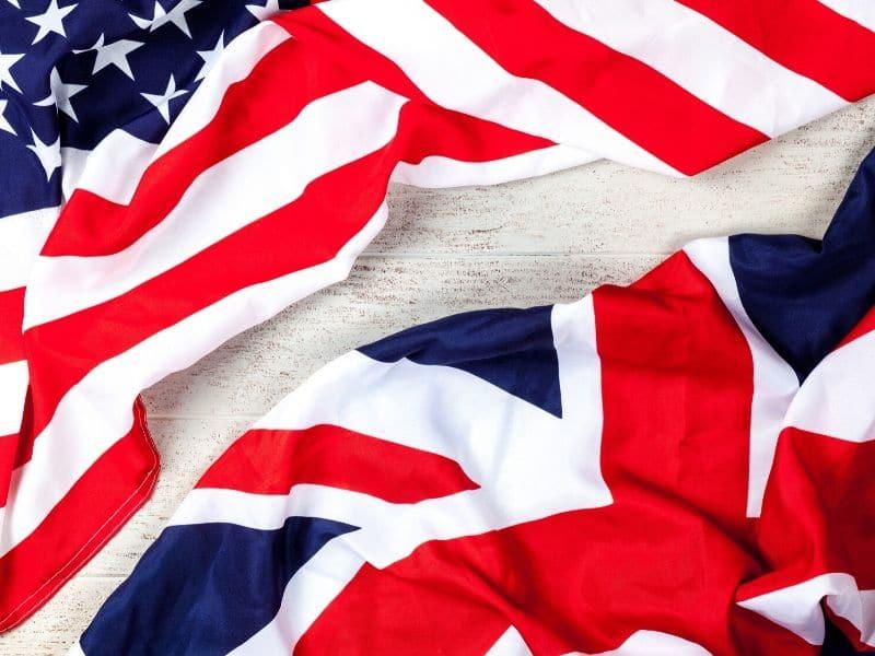 American Accent atau British Accent, idiom negara negara
